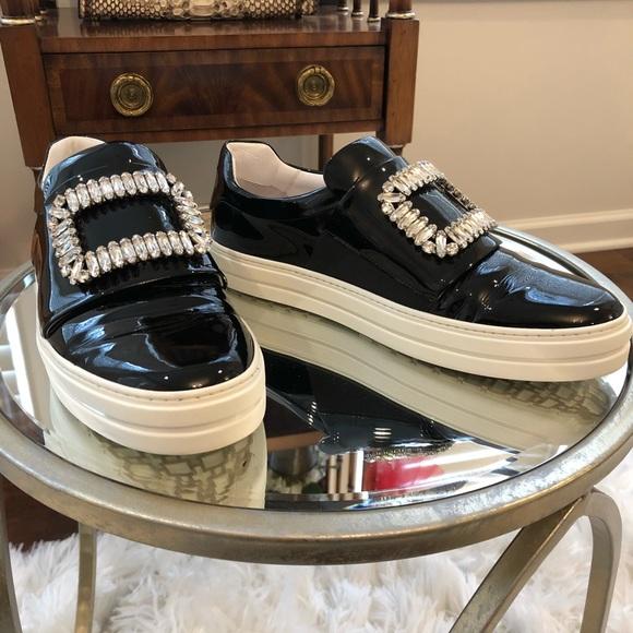 Roger Vivier Sneaky Viv Sneakers Black
